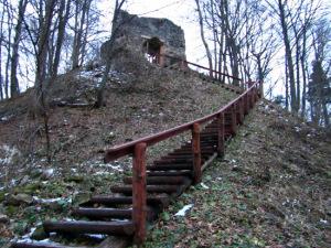 Ruiny zamku na G�rze Sobie